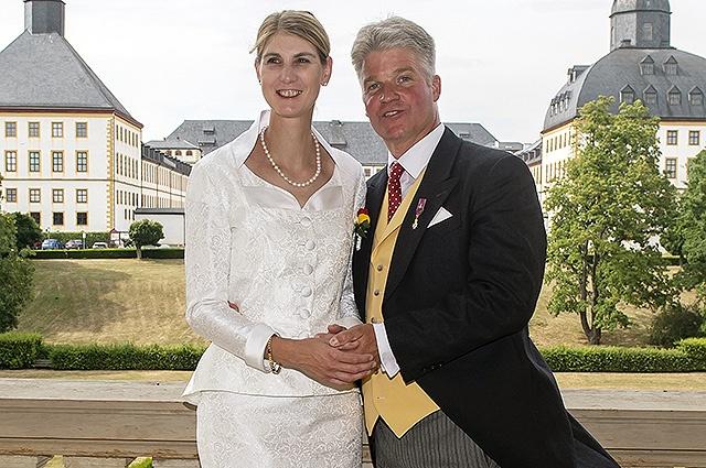 46-ամյա գերմանացի արքայադուստրն առաջին անգամ ամուսնացել է