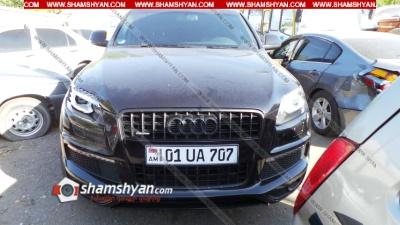 Երևանում 30-ամյա վարորդը Audi Q7-ով վրաերթի է ենթարկել հետիոտնին. պարզվել է՝ Audi-ի վրա տեղադրված է եղել դռռիկներ և չի ունեցել ԱՊՊԱ