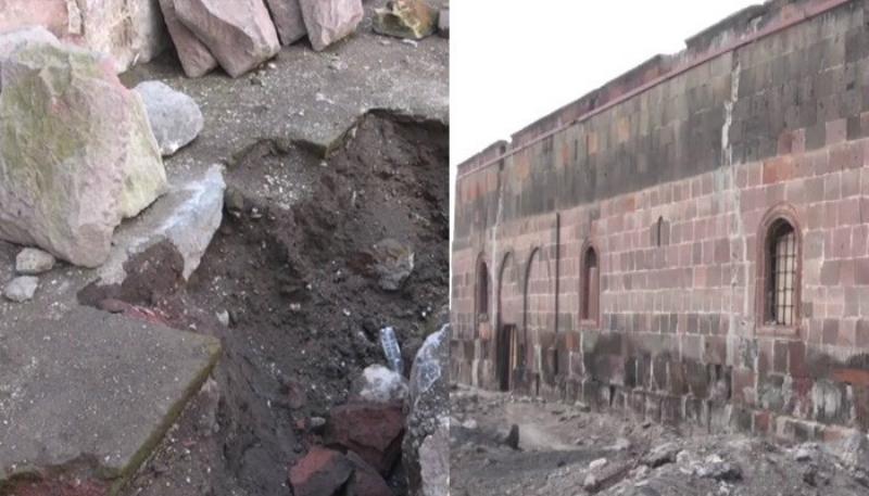 Հոռոմի եկեղեցու տակ հին եկեղեցի է հայտնաբերվել