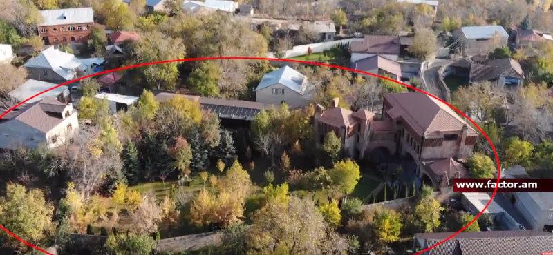 Սերժ Սարգսյանի նոր տան լուսանկարներն է արել Factor.am-ը