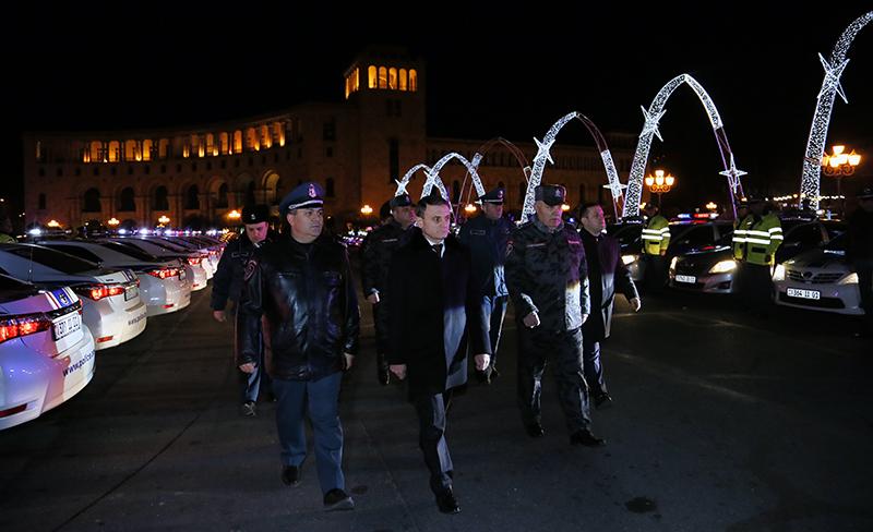 Ոստիկանությունն արդեն անցել է ուժեղացված ծառայության
