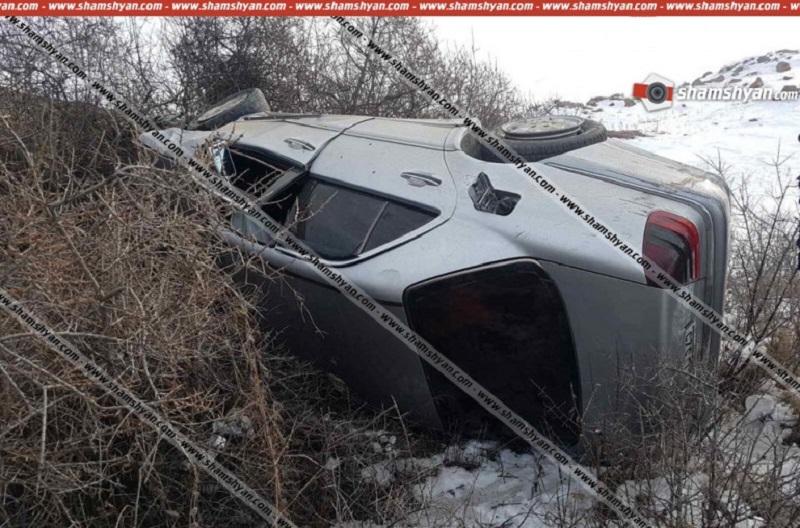 Գեղարքունիքի մարզում Mercedes-ը դուրս է եկել երթևեկելի գոտուց, բախվել ծառերին ու քարերին, 3-ամյա երեխան տեղում մահացել է