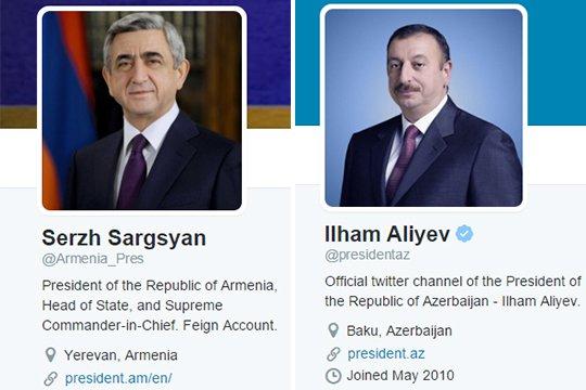 Հայաստանի նախագահի Twitter-ի կեղծ էջը ծաղրել է Ադրբեջանի նախագահի իսկական էջին. Global Voice(լուսանկարներ)