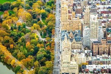 Անհավատալի հակադրություն երկու աշխարհների միջև. քաղաքը և Նյու Յորքի Կենտրոնական զբոսայգին