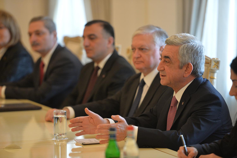 ԼՂ խնդիրը կլուծվի միայն մեկ պարագայում, եթե Ադրբեջանը հրաժարվի իր անիրատեսական ակնկալիքներից. Սերժ Սարգսյան