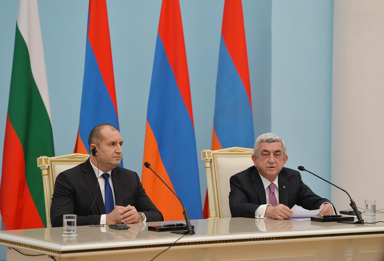Նախագահի նստավայրում տեղի են ունեցել հայ-բուլղարական բարձր մակարդակի բանակցություններ