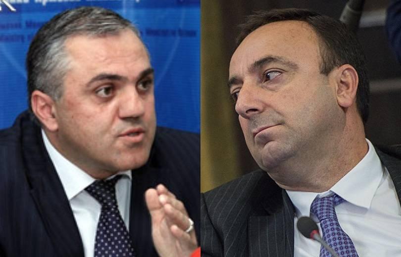 Հրայր Թովմասյանի սանիկը կալանավորվեց