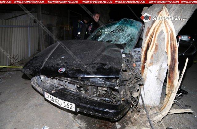 Ողբերգական վթար Սևան քաղաքում. վարորդը և ուղևորներից մեկը տեղում մահացել են. բժիշկները պայքարում են 16-ամյա տղայի կյանքի համար
