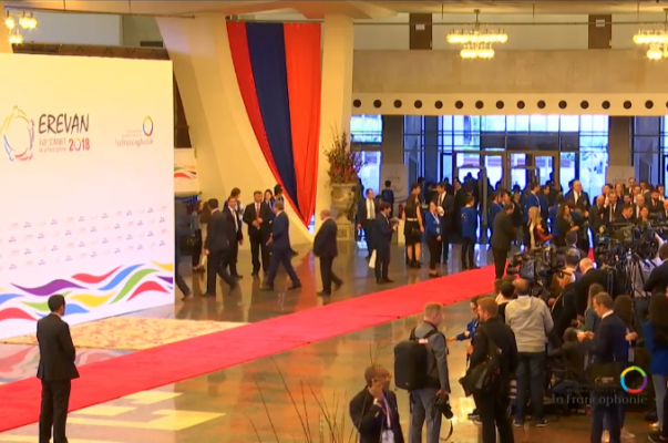 Երևանում մեկնարկում է Ֆրանկոֆոնիայի միջազգային կազմակերպության 17-րդ գագաթնաժողովը (ուղիղ)