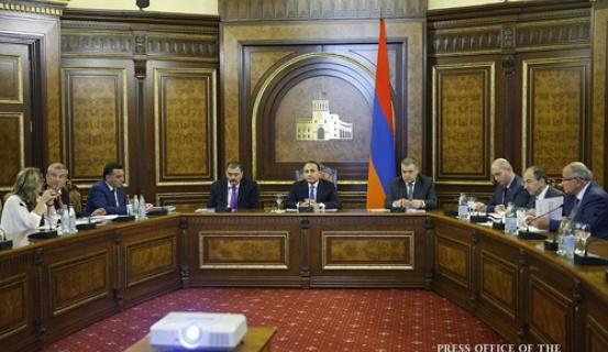 Կառավարությունում քննարկվել են Հայաստանի ժողովրդագրական զարգացումներին վերաբերող հարցեր
