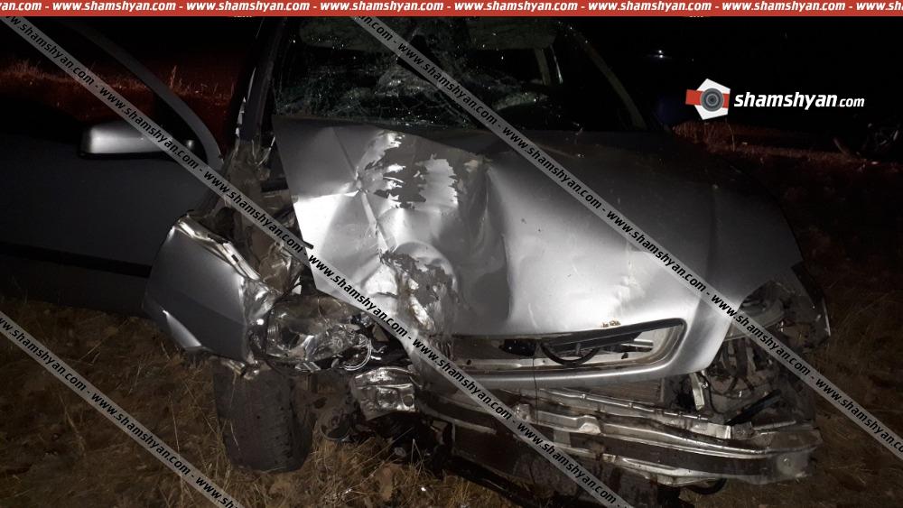 Երևանի պետական ճարտարագիտական համալսարանի 21-ամյա ուսանողը Opel-ով բախվել է ծառին