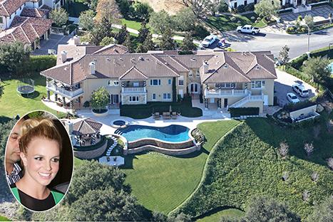 Բրիթնի Սփիրսի 7.4 միլիոն դոլար արժողությամբ նոր առանձնատունը (լուսանկարներ)