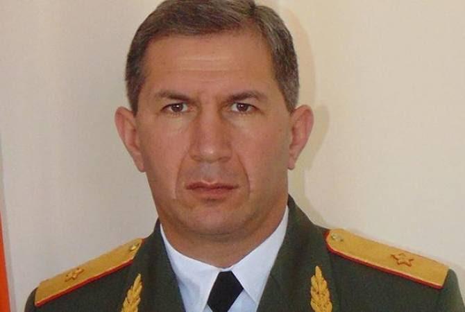Օնիկ Գասպարյանը նշանակվել է ԶՈՒ գլխավոր շտաբի պետի առաջին տեղակալ