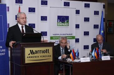 Տեղի է ունեցել Եվրոպական հարևանության գյուղատնտեսության և գյուղի զարգացման ծրագրի գործընկերների համաժողովը