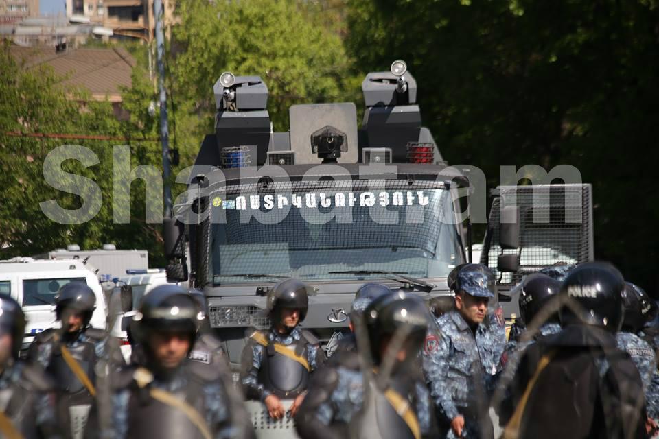 Ոստիկանությունը շարունակելու է աջակցել հավաքի խաղաղ և բնականոն ընթացքին