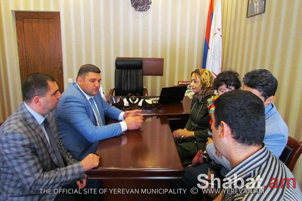 Ֆրանսիայի Առնուվիլ և Իրանի Սպահան քաղաքների պատվիրակությունները հյուրընկալվել են Նուբարաշեն վարչական շրջանում (լուսանկարներ)