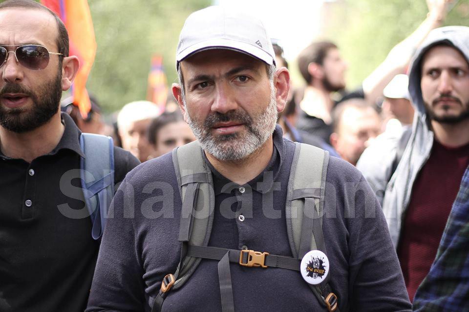 Ապրիլի 29-ից  նոր թափով ու շնչով կվերսկսենք քաղաքացիական անհնազանդության ողջ գործողությունները Երևանում. Նիկոլ Փաշինյան