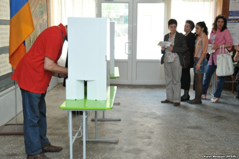 9/48 ընտրատեղամասում նախնական տվյալները հայտնի են