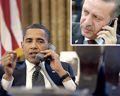 Օբաման Էրդողանի հետ է քննարկել ԴԱԻՇ-ի դեմ պայքարն ու իրադրությունը Սիրիայում