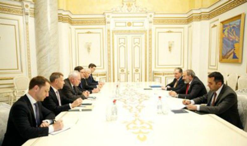 Վարչապետն ընդունել է ԵԱՀԿ Մինսկի խմբի համանախագահներին