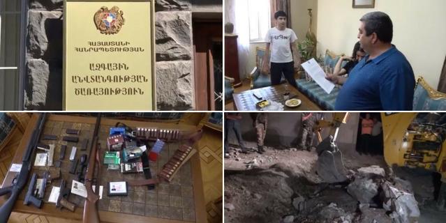 Առաքել Մովսիսյանը թաքստոցից հանել և կամովի հանձնել է զենք-զինամթերքը և այդ հիմքով ազատ է արձակվել. ԱԱԾ (տեսանյութ)