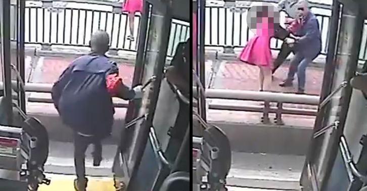 Ավտոբուսի վարորդը կանխում է ինքնասպանության փորձը (տեսանյութ)