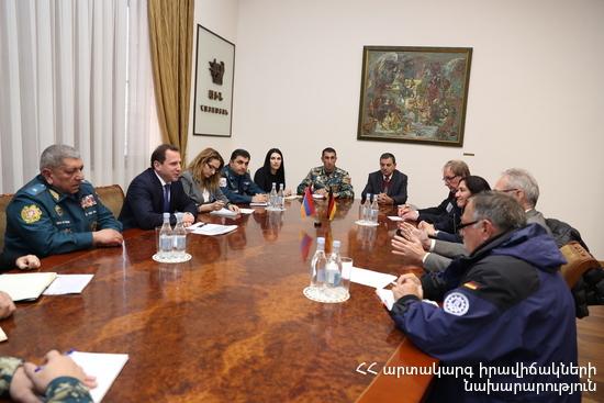 Արտակարգ իրավիճակների կառավարումը Հայաստանում կատարելագործվելու է նաև Գերմանիայի փորձով
