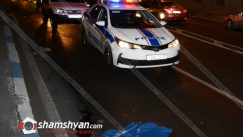 Մահվան ելքով վրաերթ–ավտովթար Երևանում. հետիոտնը տեղում մահացել է