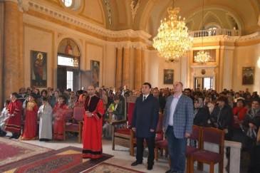 Էդուարդ Շարմազանովը հանդիպել է Սանկտ Պետերբուրգի հայկական համայնքի հետ