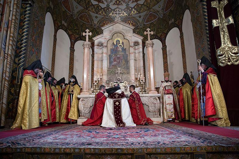 Մայր Աթոռ Սուրբ Էջմիածնում նշվել է Համբարձման տոնը