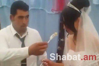 Ադրբեջանցին հարսանիքի ժամանակ ցույց տվեց իր իրական դեմքը (տեսանյութ)
