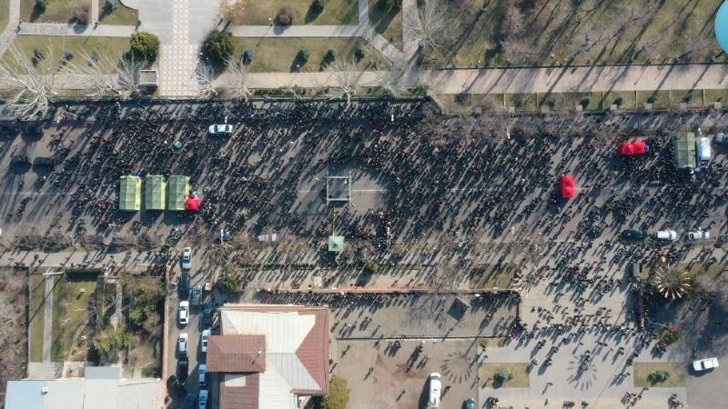 ԻՔՄ․ Բաղրամյան պողոտայի՝ ցուցարարների կողմից փակված տարածքում գտնվել է 3300 մարդ