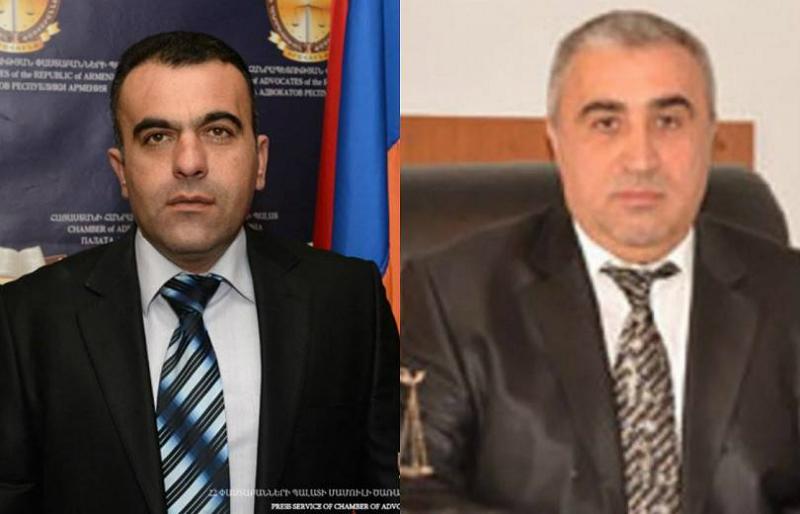 Դատավոր Գագիկ Հեբոյանն ու փաստաբան Վահագն Դանիելյանն իրենց մեղավոր չճանաչեցին