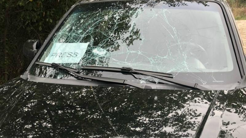Ադրբեջանը թիրախավորել է Agence France-Presse (AFP) գործակալության լրագրողների մեքենան