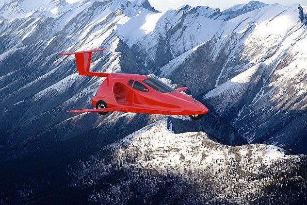 Ամերիկյան Samson Motors ընկերությունը հայտարարել է թռչող մարզական մեքենայի մշակում սկսելու մասին