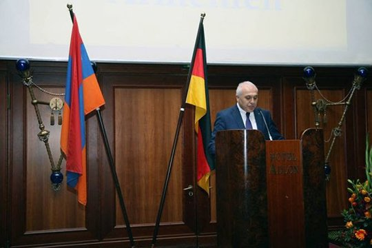 Հայաստանի ազգային տոնին նվիրված ընդունելություն է տեղի ունեցել Բեռլինում