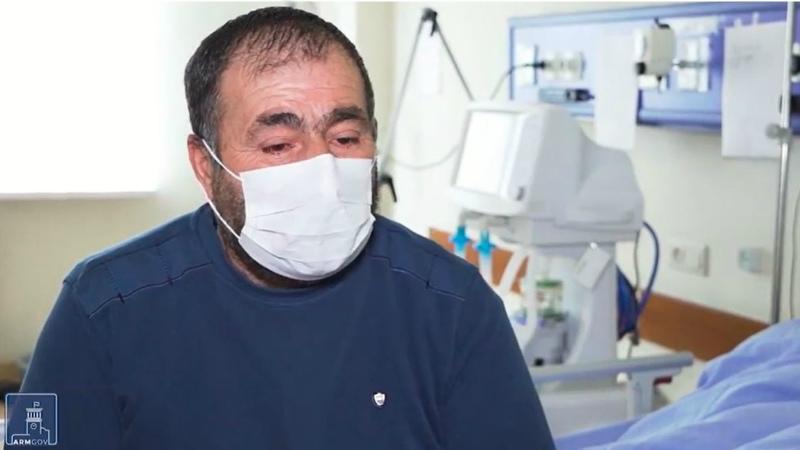 Մեր հայրենակիցների ապաքինման ընթացքը. հայացք հիվանդանոցի ներսից: