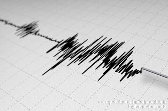 Երկրաշարժ՝ Տավուշի,  Լոռու, Շիրակի մարզերում
