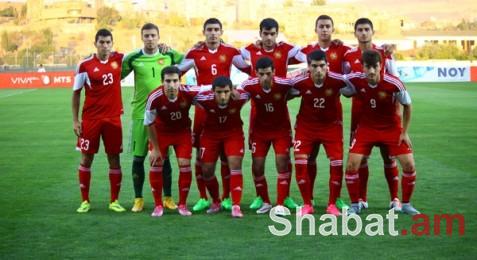 Հայաստանի U21 հավաքականը պարտվեց