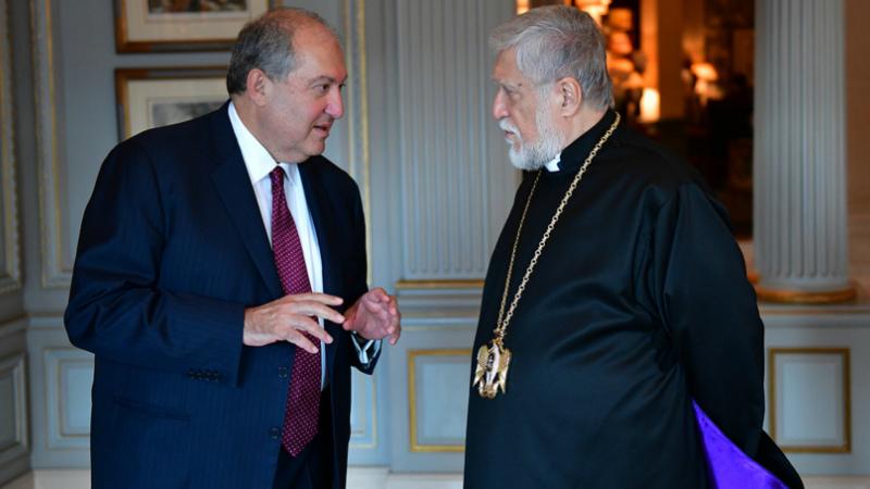Արամ Ա կաթողիկոսն ուղերձ է հղել Արմեն Սարգսյանին