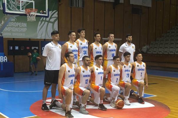 Հայաստանի բասկետբոլի Մ20 հավաքականը պարտվեց Կոսովոյի ընտրանուն