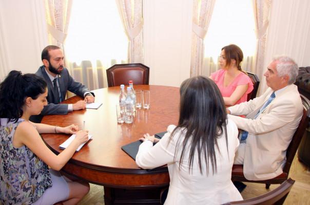 Արարատ Միրզոյանը Պյոտր Սվիտալսկու հետ քննարկել է ՀՀ–ում արտահերթ խորհրդարանական ընտրությունների հարցը