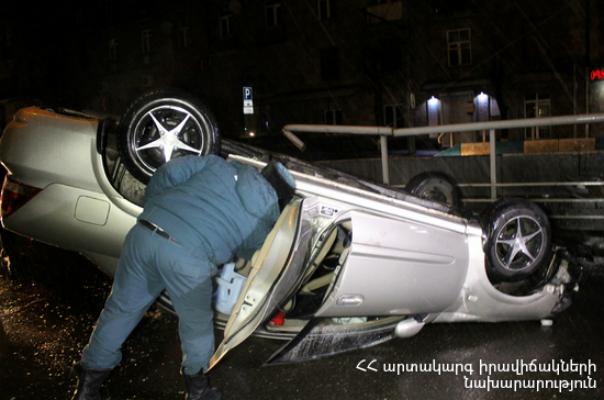 Ողբերգական ավտովթար Երևան-Գյումրի ճանապարհին․ կա մեկ զոհ և վիրավոր