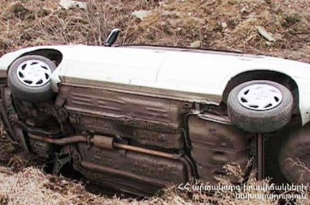 Դիլիջանի ոլորաններում ավտոմեքենան սահել է դեպի ձորը. տուժածներ չկան