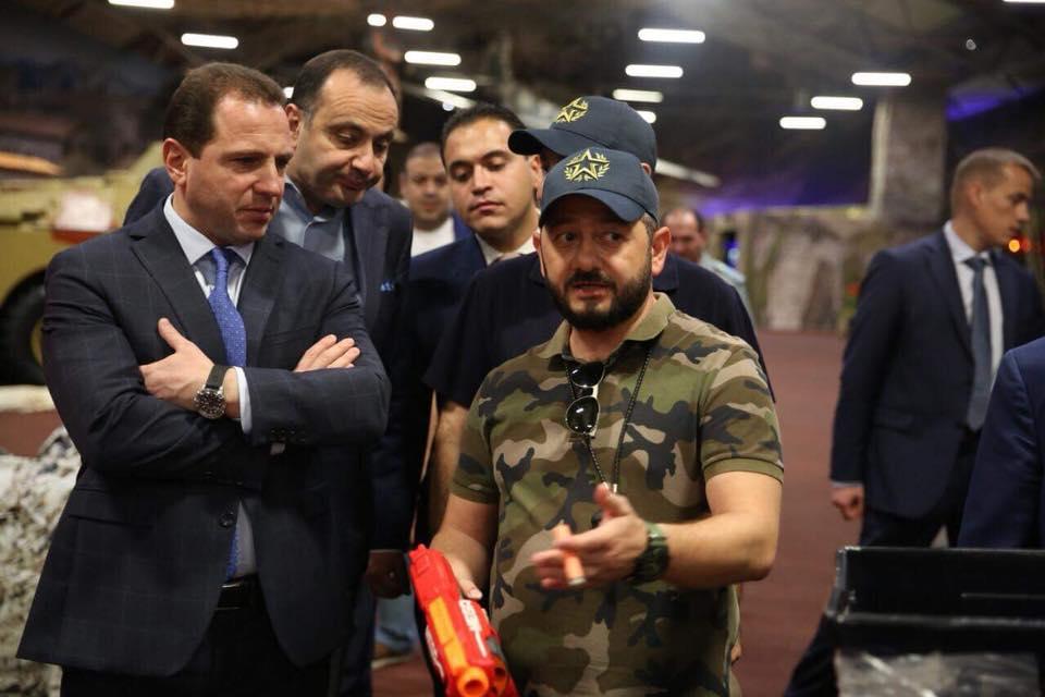 ՀՀ ՊՆ նախարարը «Պատրիոտ» ռազմա-տակտիկական կենտրոնում հանդիպում է ունեցել Միխայիլ Գալուստյանի հետ