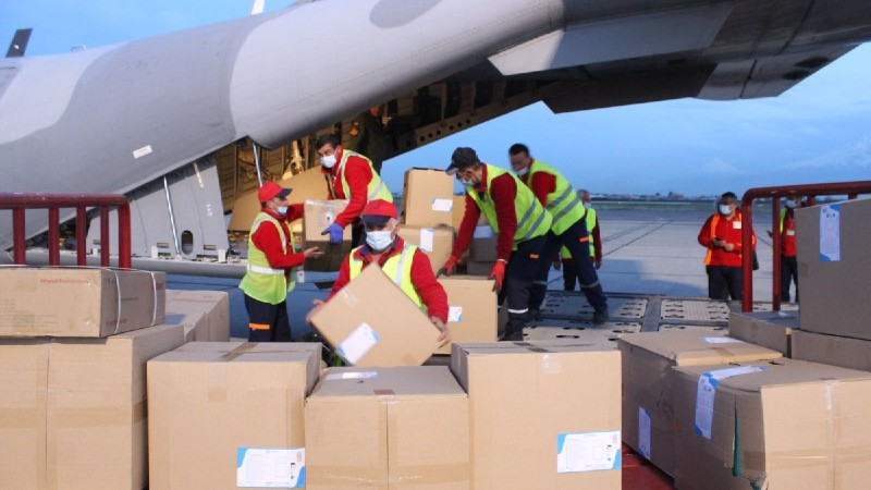 Հայաստանն ավելի քան 3 տոննա մարդասիրական օգնություն է ստացել Լեհաստանի կառավարությունից (լուսանակարներ)