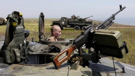 Ուկրաինայի ուժայինները հայտարարել են Դոնեցկից ռազմական տեխնիկայի դուրսբերման մասին