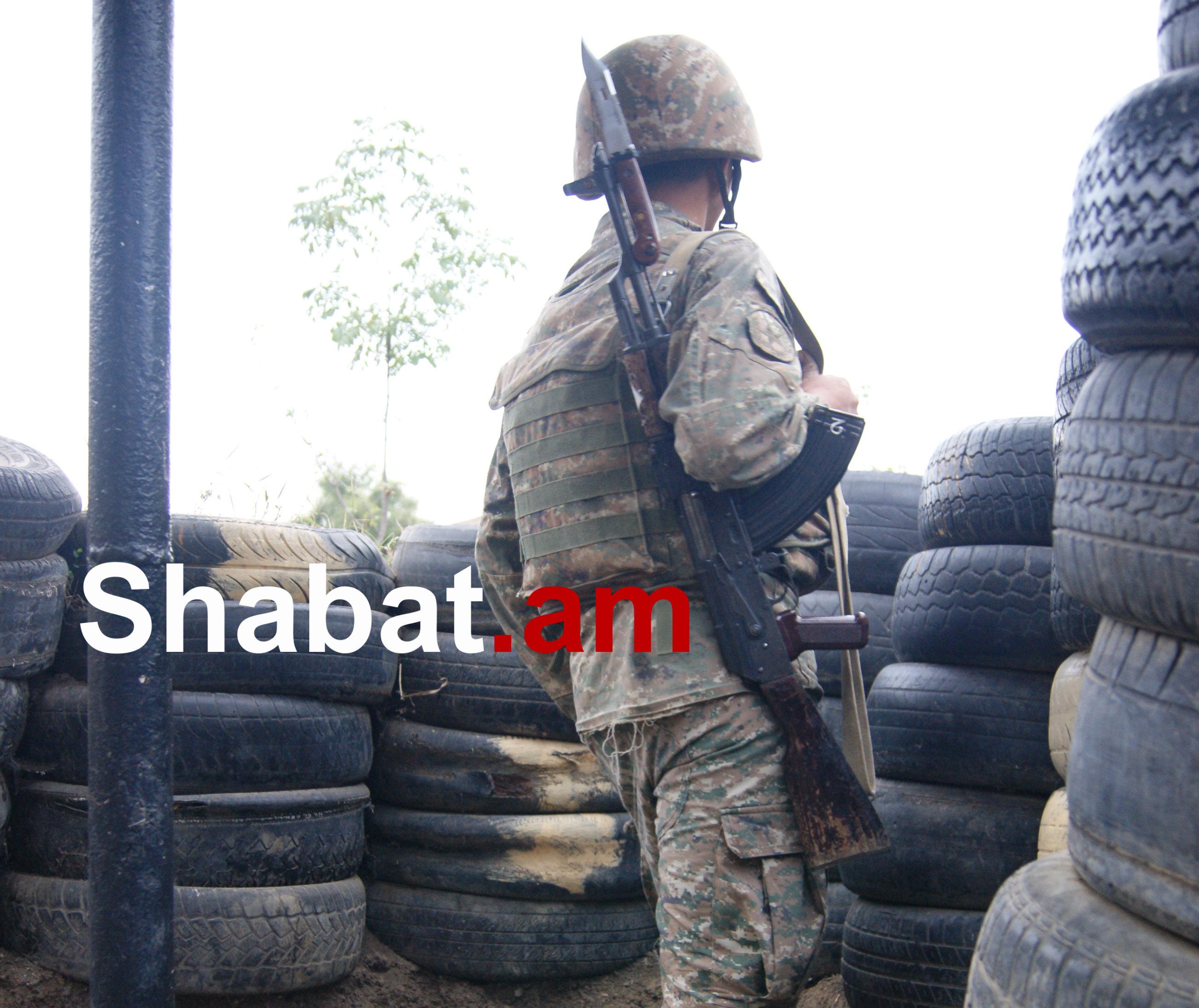 Հակառակորդը հայ դիրքապահների ուղղությամբ արձակել է ավելի քան 8000 կրակոց