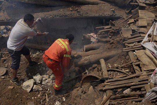 Չինաստանում շինության փլուզման հետևանքով զոհվել է 17 մարդ