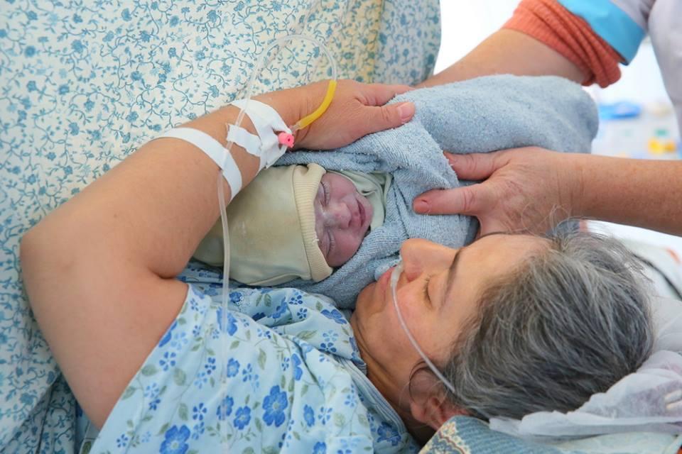 Աբովյանի ծննդատանը լույս աշխարհ է եկել 42-ամյա Համեստ Սադոյանի 9-րդ երեխան (լուսանկարներ)